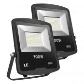 2 Pack 100W LED Floodlight
