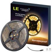 Warm White 12V LED Adhesive Backing Tape Light