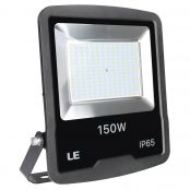 150W Outdoor LED Flood Light, 12000 Lumen Security Lights, 400W HPS floodlight Equivalent, Waterproof IP65 Garden Light, 5000K Daylight White Floodlight, Wall Washer (LED Light Fixture)