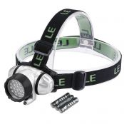LED Headlamp, 20 CREE LEDs, 4 Lighting Modes