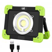 20W LED Work Light Rechargeable Camping Lantern IP44 Waterproof Power Bank Portable Outdoor Walking Hiking Emergency Lamp Daylight White Red Flash