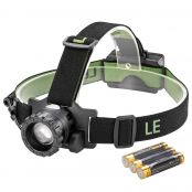 Waterproof CREE LED Headlamp, 150lm