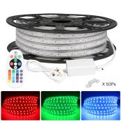 25M 5050 RGB LED Strips Light