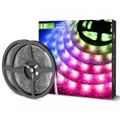 2 Pack 10M RGB LED Strip Light Kit, IP65 Waterproof, Remote and Power Adapter Included