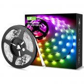 10M RGB LED Strip Light Kit, Remote and Power Adapter Included, 5050 LED