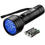 Torch Flashlights, Pet Urine and Stain Detector, 3 AA Batteries Included