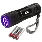 9 LEDs UV Torch, Backlight