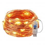 8 Modes Waterproof Copper Wire Starry Lights
