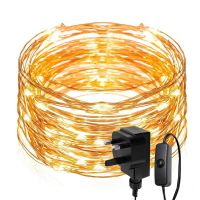 200 LEDs String Light, 20m Waterproof Copper Wire