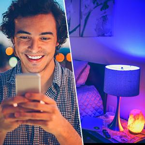 Wifi Smart Bulb E27 Works With Alexa Google Home And