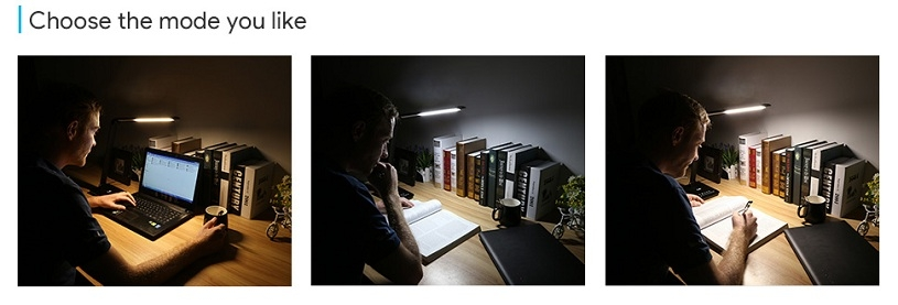 8w Dimmable Tunable Led Desk Lamp Reading Light Le