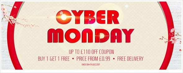CYBER MONDAY LED LIGHTS DEAL! The big deal in 2017! 8% off for all product, up to £110 off coupon for your order!