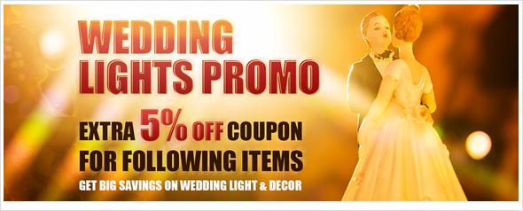 LED wedding lights enjoy extra 5% off coupon, shop now